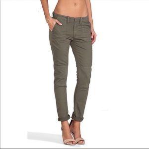 Rag & Bone Bowery 2 Army Green Jeans Size 27